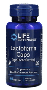 Life Extension_乳鐵蛋白膠囊_胃炎保健食品