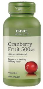 GNC 健安喜_蔓越莓膠囊_泌尿道感染_私密處保養_保健食品