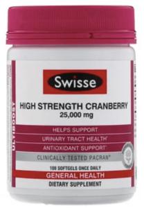 Swisse_Ultiboost_High Strength Cranberry_蔓越莓__泌尿道感染_私密處保養_保健食品