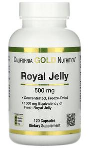 California Gold Nutrition, 蜂王漿,濃縮及凍乾_更年期保健食品
